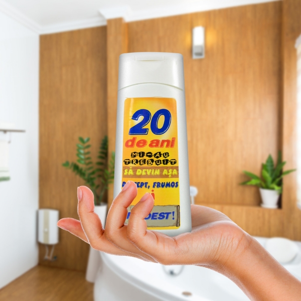 Gel De Dus 20 De Ani 250 ML