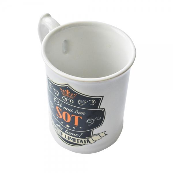 Halba Ceramica Cel Mai Bun Sot Din Lume! Editie Limitata 500 ML