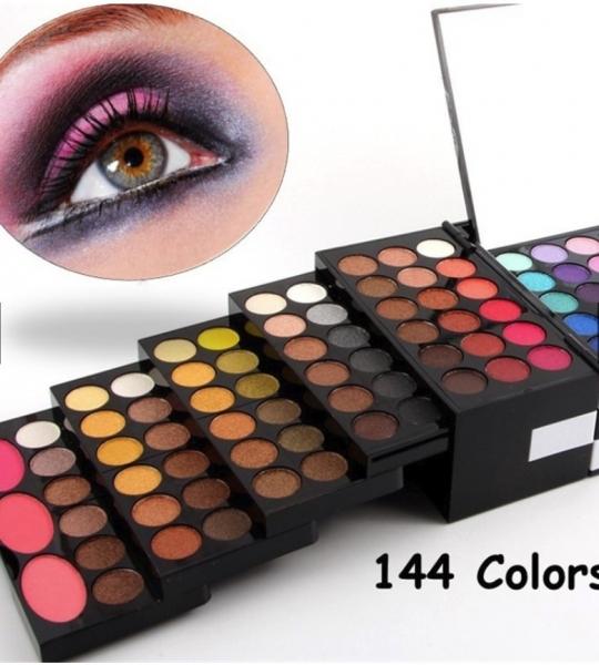Kit Pentru Machiaj Blockbuster - 144 Culori Miss Rose