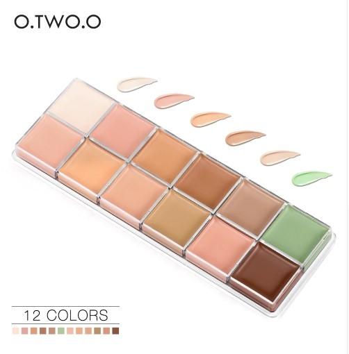Paleta Profesionala corectoare O.TWO.O 12 culori