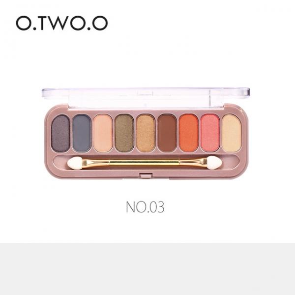 Paleta Profesionala Farduri Pentru Ochi 9 Culori  O.TWO.O