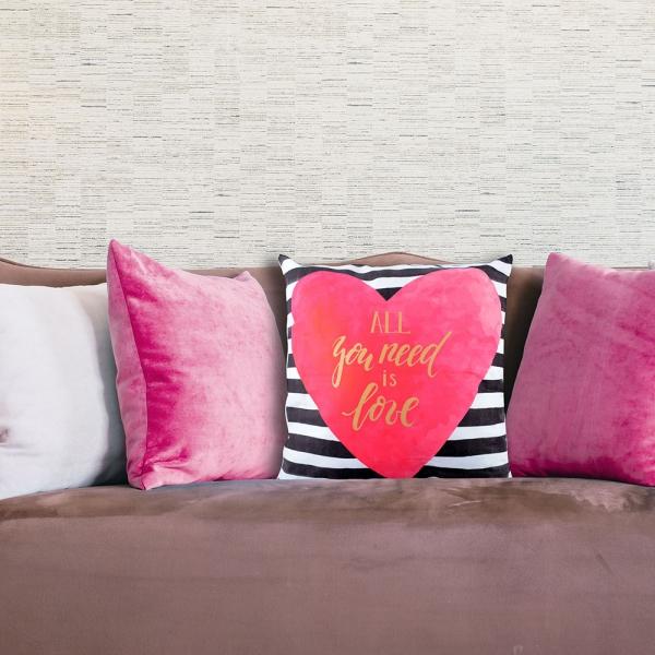 Perna Decorativa Love #4 45X45 CM