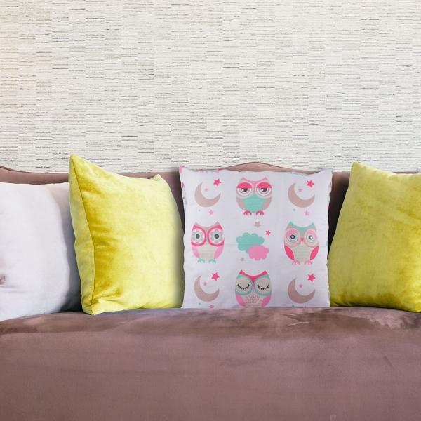 Perna Decorativa Bufnita #5 45X45 CM