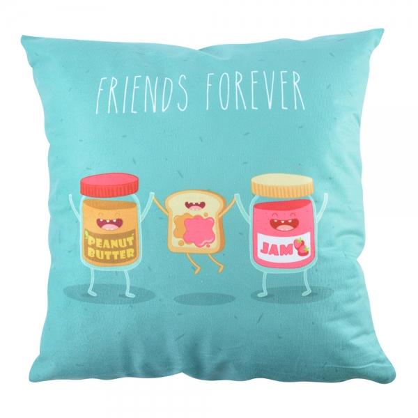 Perna Decorativa Friends Forever #1 45X45 CM