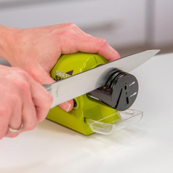 Dispozitiv Electric Pentru Ascutit Cutite, Foarfece, Surubelnite Swifty Sharp - 20W