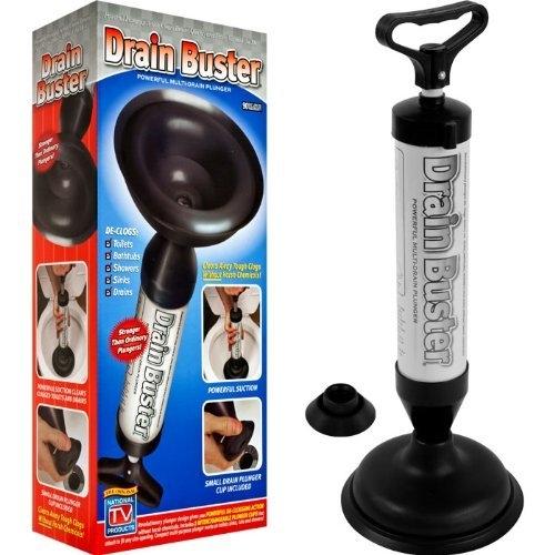 Pompa Pentru Desfundat Chiuveta Si Toaleta – Cu 2 Duze
