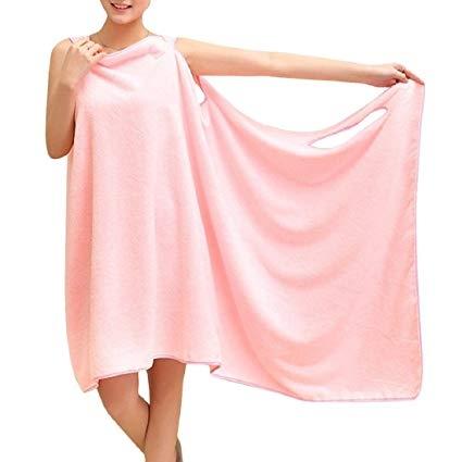 Prosop-Halat Pentru Baie Roz– Magic Towel