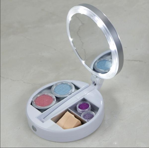 Oglinda Pliabila Cu Led Pentru Makeup – 2 Fete si 3 Compartimente My Fold Away