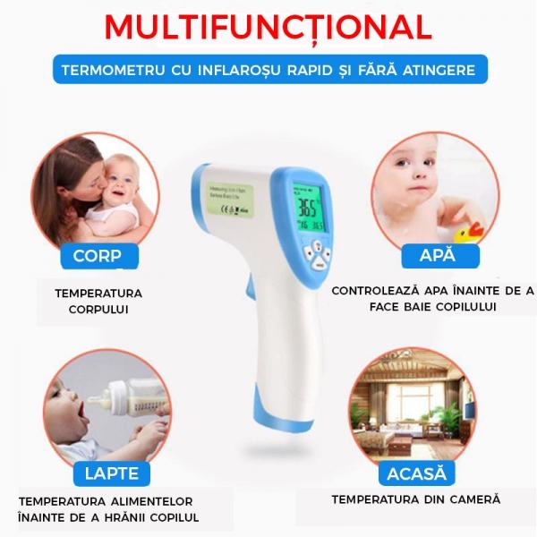 Termometru Digital Multifuctional Cu Inflarosu – Pentru Copii