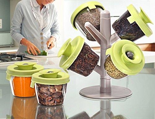 Suport Pentru Condimente Cu 6 Compartimente Popsome herbs & spices