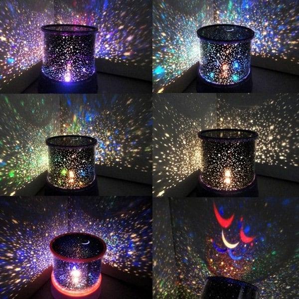 Lampa LED Proiector Laser – Stele - Albastru