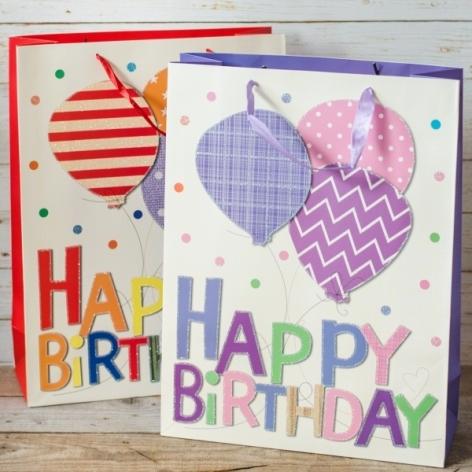 Punga Cadou Happy Birthday 31x41x12 cm
