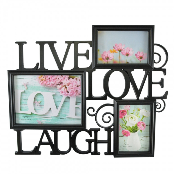 Rama Foto Live, Laugh, Love 45X38 CM