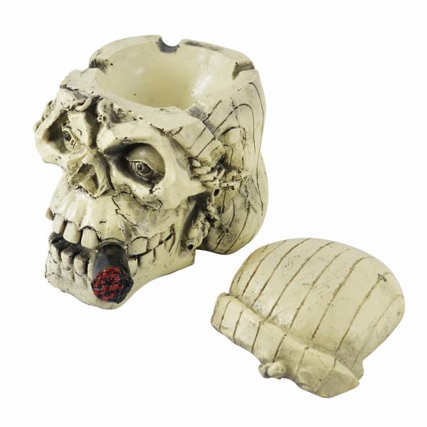 Scrumiera Craniu 13x11x11 CM