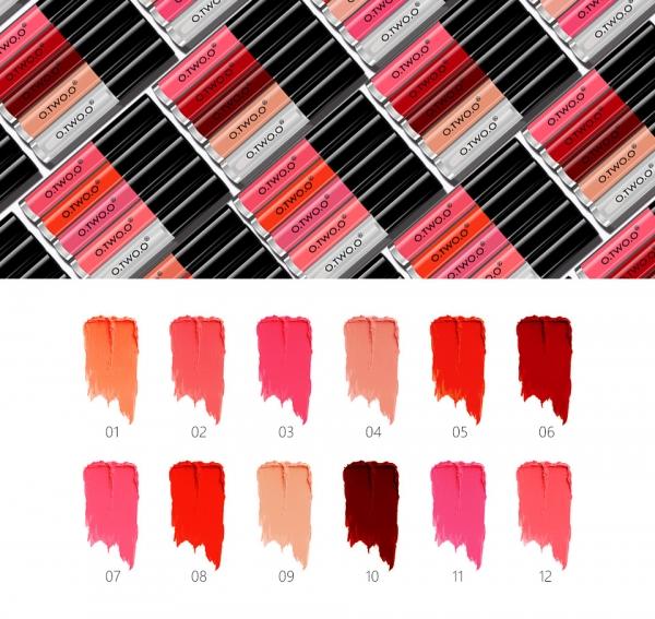Set Luciu de Buze 5 Culori