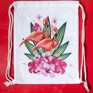 Rucsac Flamingo #1 - 35x45 cm