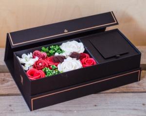 Trandafiri din Sapun 35x10 cm Negru