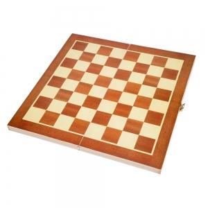 Tabla De Sah Cu Suprafata Magnetica Din Lemn - 29x29x2.5 cm