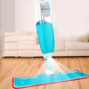 Mop Cu Pulverizator Spray Si Laveta Din Microfibra – 500 ML - Albastru
