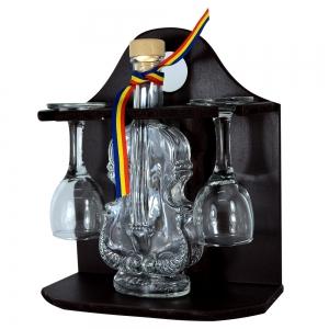 Minibar Cu Sticla De Vin Si 2 Pahare