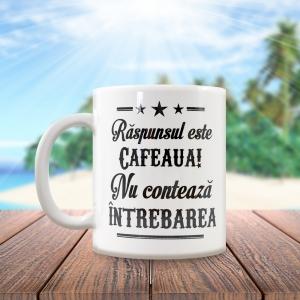 Cana Raspunsul Este Cafeaua! 250 ML