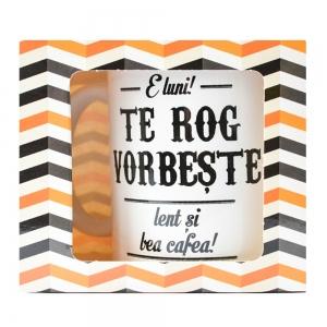 Cana E Luni! Te Rog Vorbeste Lent Si Bea Cafea! 250 ML