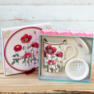 Cana pentru infuzare ceai cu Strecuratoare si Capac