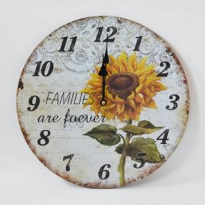 Ceas Floarea Soarelui - 30 cm