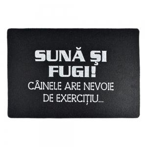 Covoras Suna Si Fugi! 60X40 CM