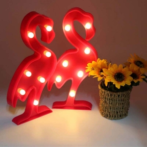 Lampa Led Flamingo