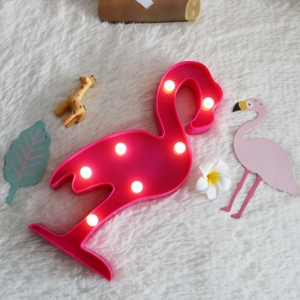 Lampa Led Flamingo
