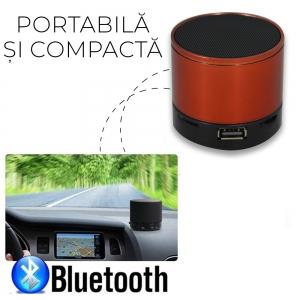 Mini Boxa Bluetooth Portabila - 5.5 CM
