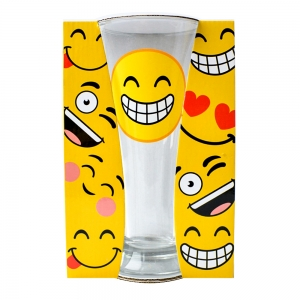Pahar Bere Emoji Smile 250 ML