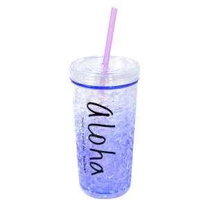 Pahar De Vara Cu Pai Cool Water #1 450 ML – Mentine Bautura Rece