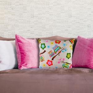 Perna Decorativa Bufnita #1 45X45 CM