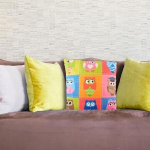 Perna Decorativa Bufnita #4 45X45 CM
