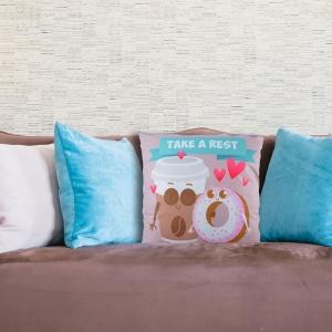 Perna Decorativa Take A Rest 45X45 CM