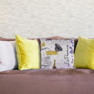 Perna Decorativa Lavanda #6 45X45 CM
