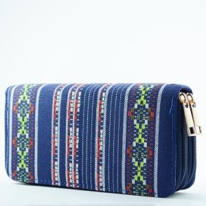 Portofel Dama Textil Dublu