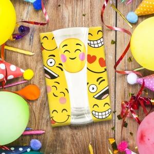 Pahar Bere Emoji Blush 250 ML