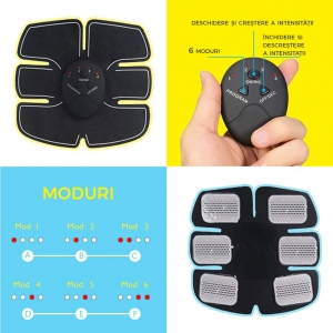 Centura Electrostimulare Corporala Smart Fitness – 3 In 1