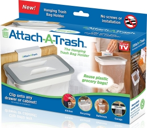 Suport Pentru Sacul De Gunoi Cu Capac - Attach A Trash