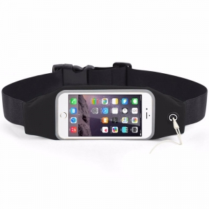 Husa/Borseta Telefon Pentru Alergat Negru – 5.5 Inch