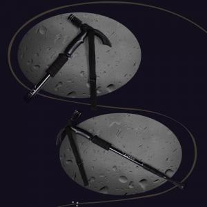 Baston Telescopic Pliabil Cu LED Si Inaltime Reglabila