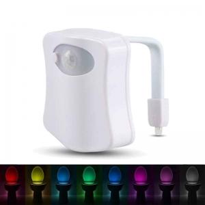 LED Multicolor Pentru Vasul De Toaleta - Cu Senzor Infarosu