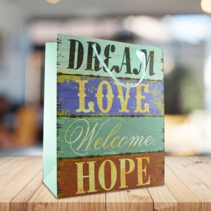 Punga Cadou Dream, Love, Welcome, Hope