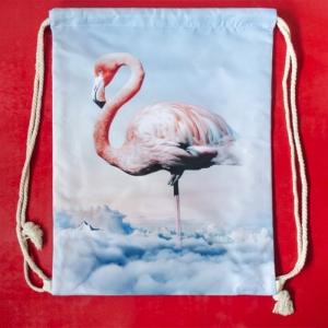 Rucsac Flamingo #3 - 35x45 cm