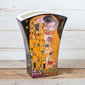 Vaza flori Klimt Negru #1
