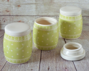 Set 3 borcane condimente - 9x11.5 cm #2