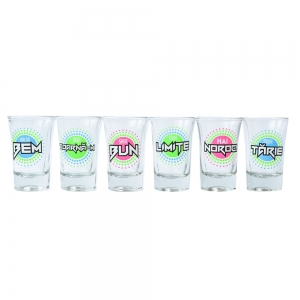 Set 6 Pahare Shot-uri Techno Shot 35 ML